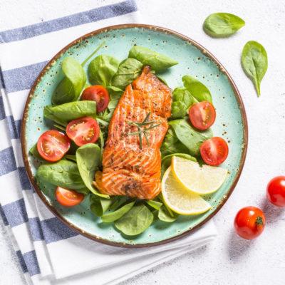 Norwegian Salmon Skin On Portion