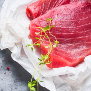 Sashimi Grade Tuna Steaks (140-170g Steaks)