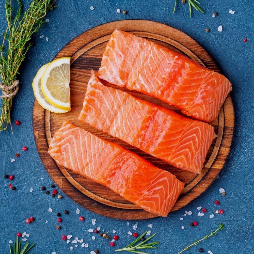 5 Norwegian Salmon Portions | 200g each | BULK DEAL