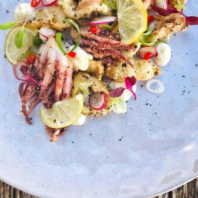 Salt & Pepper squid #craving #pescatarian