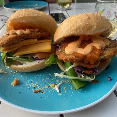 Barramundi Burgers from caught_online are brilliant!
