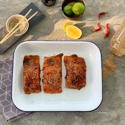 Asian style Salmon!
